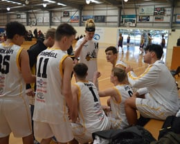 2018 Melbourne- U18 Boys team talk vs Mornington
